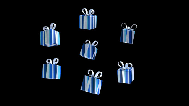 Flying gifts - 3D Animation video