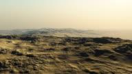 flying over a rocky desert video