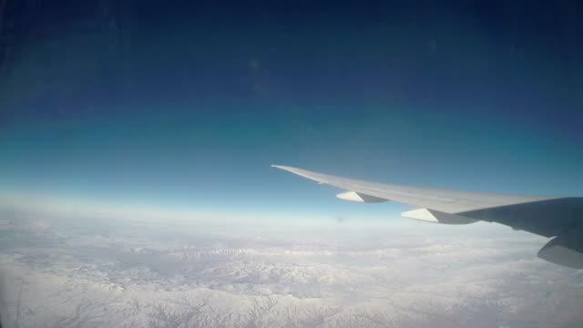 Flying over Arabic Desert video