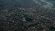 Flying over central London video