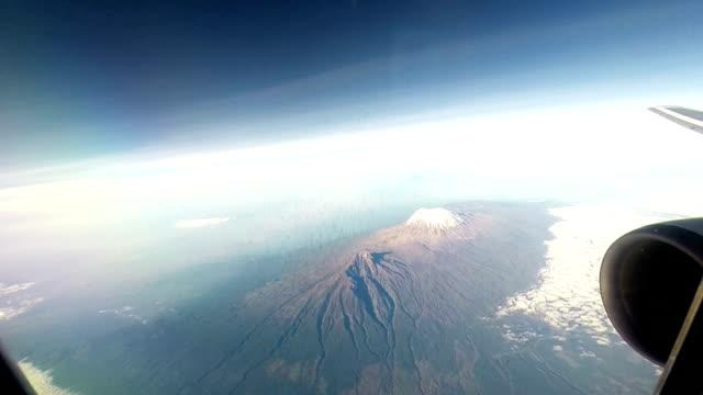 Flying over Kilimanjaro video