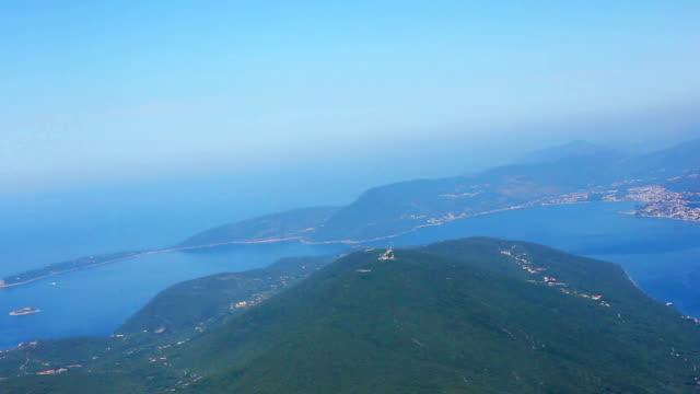 Flying over Montenegro video