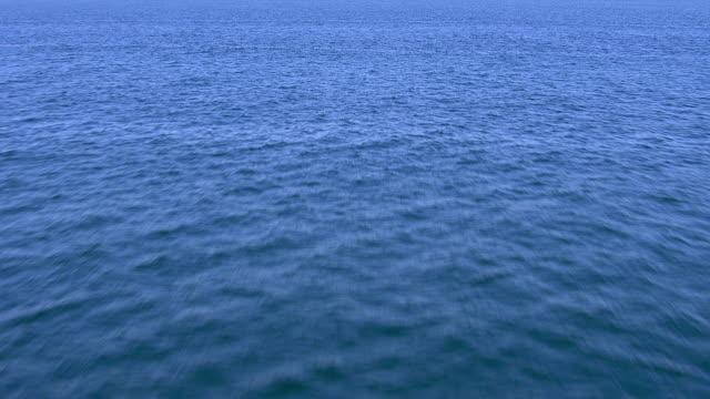 Flying over Pacific Ocean video