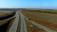 Flying Over The Highway Quadrocopters video