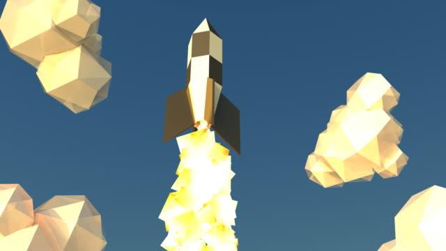 Flying rocket video
