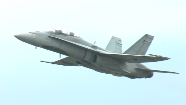 F18 Flying Sequence video