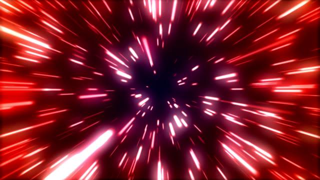 flying through star field video