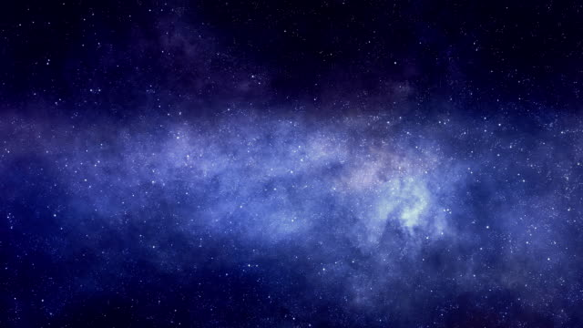 Flying Through the Star Space and Nebulae video