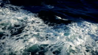 Foamy Waves At Side Of Ship video