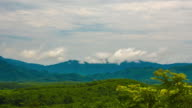 Fog and cloud mountain valley landscape,Thailand video