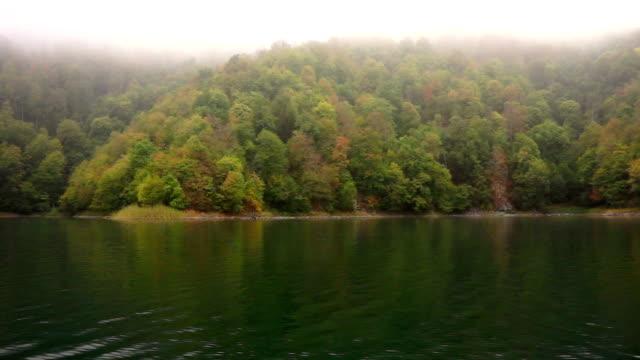 Fog of Lake Göygöl (goygol) video