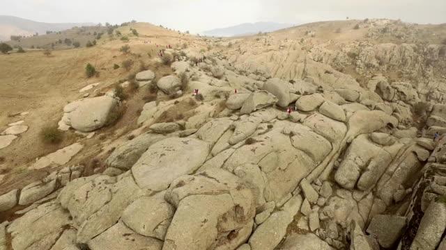 Foggy Mountain Landscape video
