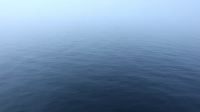 Foggy Ocean Surface (Full HD, 1080) video
