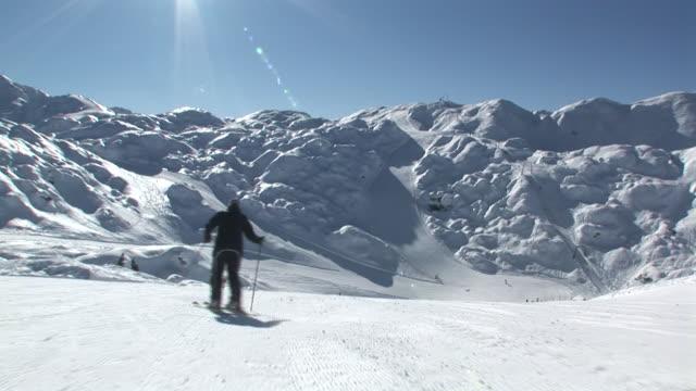 HD: Following The Skier video