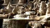 Fontana di Trevi Fountain Rome Italy video