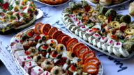 Food events and celebrations video