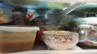 Food In Refrigerator video