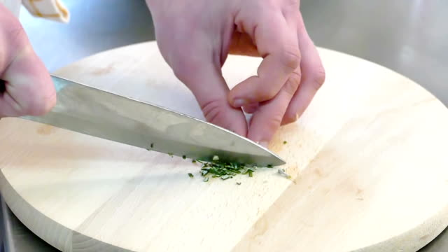 Food Preparation by Chef video