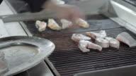 Food restaurant fish video