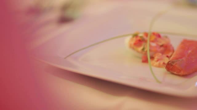 Food Salmon Plate video