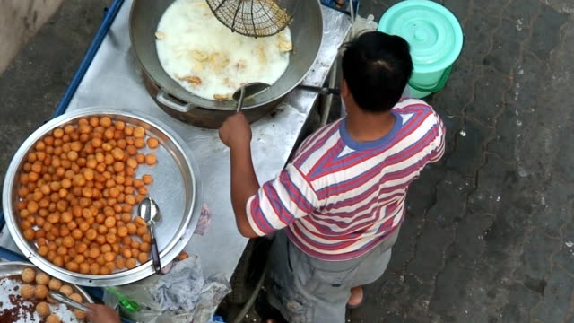 Food stall video