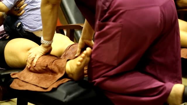 foot massage, Thailand video