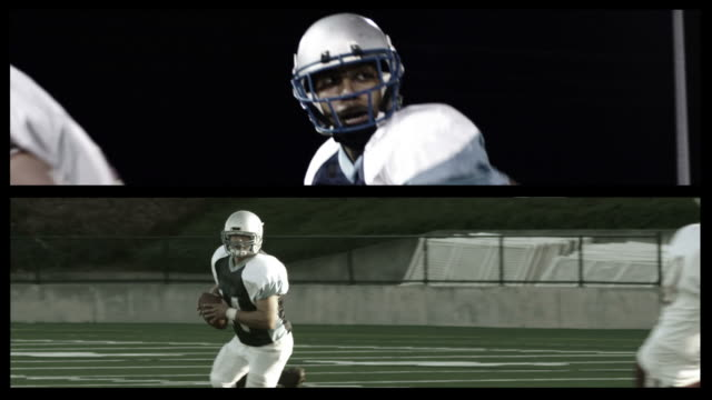 Football collage video