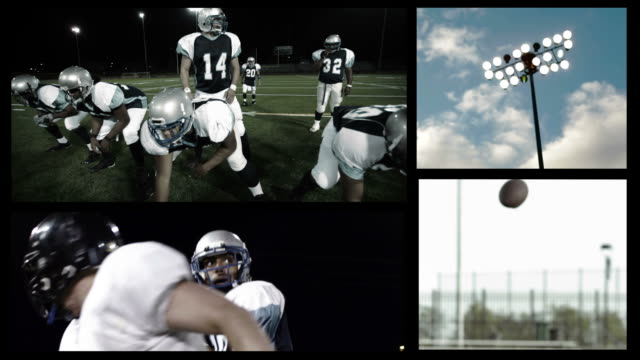 Football composite video