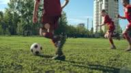 Football Match video