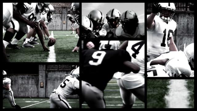 Football Montage video