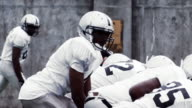 Football play from scrimmage video