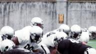 Football Player Jukes Defenders video