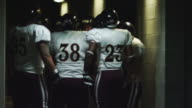 Football players psych themselves up video