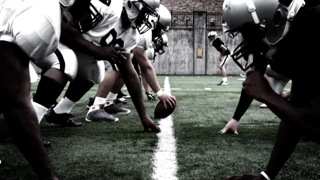 Football scene video