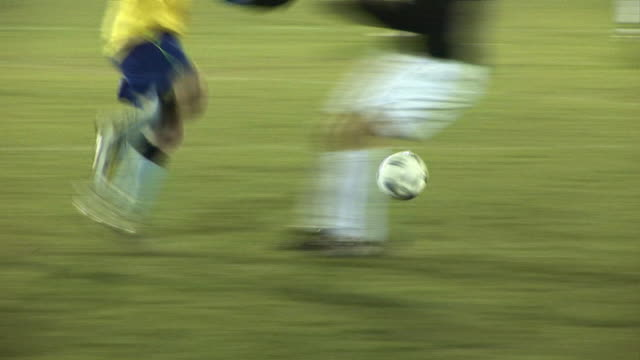 Football / Soccer Match live Sports action Dribbling the ball video