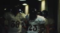 Football team psychs up video