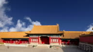 Forbidden City, Beijing, China -- was the Chinese imperial palace from the Ming Dynasty to the end of the Qing Dynasty video