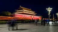 Forbidden city entrance video