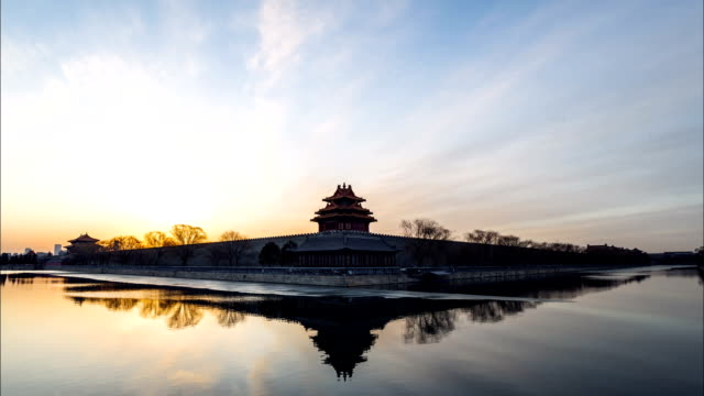 Forbidden city timelapse,Beijing,China video