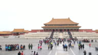 4K VDO : forbidden city video