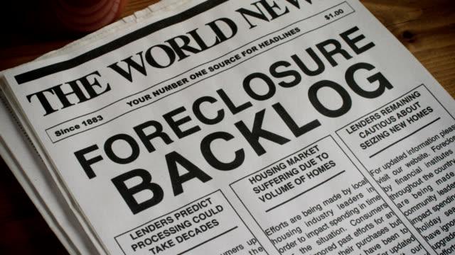 Foreclosure Headline video