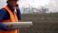 STEADYCAM: Foreman / Construction Worker video