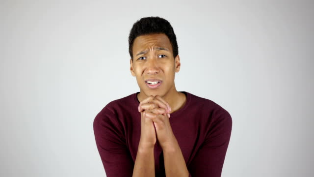 Forgive me Please, Young Man Gesture, Asking for Forgiveness video