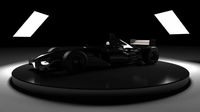 Formula 1 car video