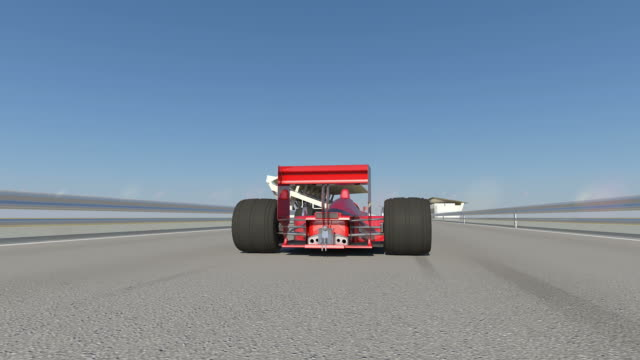 3D Formula 1 Race Car Wins video