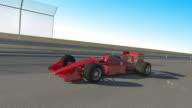 3D Formula 1 Racing Car video