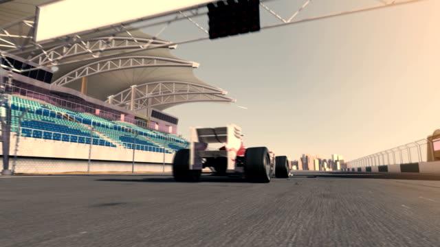 formula one racecar video
