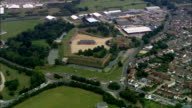 Fort Brockhurst  - Aerial View - England, Hampshire, Gosport District, United Kingdom video