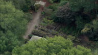 Fort Raleigh National Historic Site 'the Lost Colony'  - Aerial View - North Carolina,  Dare County,  United States video