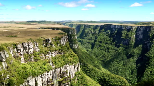 Fortaleza canyon in Brazil video